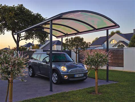 Abris De Voiture Design by Abri Et Carport En Aluminium Pour Voiture Cing Car
