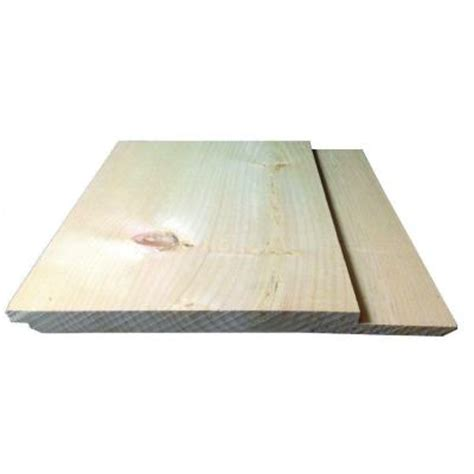 2 in x 8 in x 12 ft log cabin siding board 2812spflcs