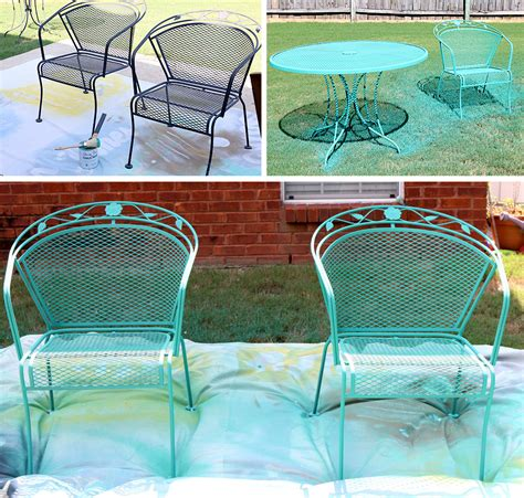Paint Patio Furniture Metal - how to paint patio furniture with chalk paint 174
