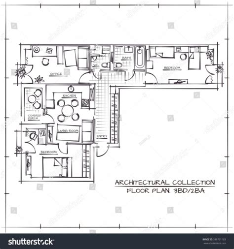 how to draw floor plans by hand wonderful drawn hand site plan pencil and in color drawn