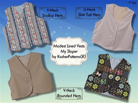 pattern making vest jacket design pattern making software modesty
