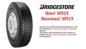 Bridgestone Commercial Truck Tires Canada Gcr Canada New W919 Tires