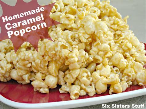 popcorn recipe caramel popcorn recipe dishmaps