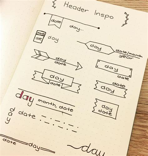 design header ideas 17 mejores ideas sobre cuadernos bonitos en pinterest