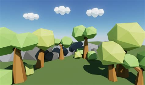 2d Blueprint Software Free low poly worlds a good way to learn blender and ue4