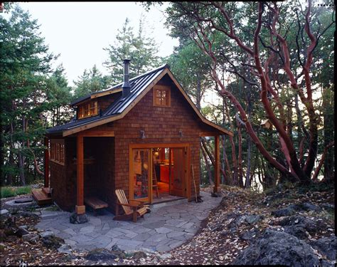 6 tiny floor plans for cozy cottages with surprisingly luxurious gallery orcas island cabin david vandervort architects