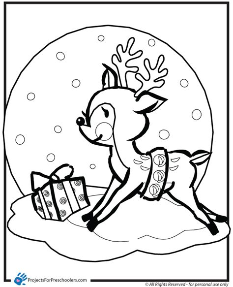 reindeer coloring page to print coloring pages of reindeer az coloring pages