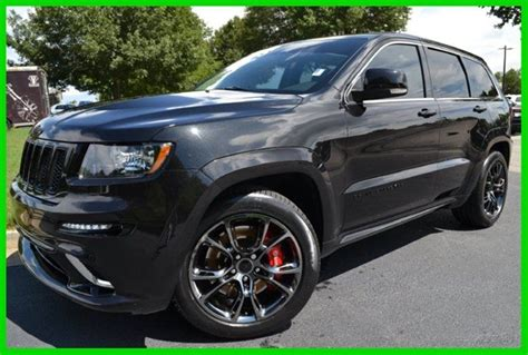 Jeep Grand 2013 For Sale 2013 Jeep Grand Srt8 Black For Sale