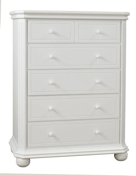 sorelle vista elite 5 drawer dresser white ideal baby