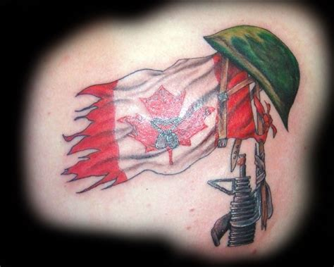 canadian flag tattoos designs canadian flag tattoos designs ideas