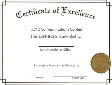 winner certificate template free po sample format