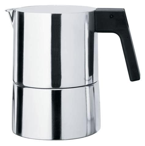 alessi kaffeebereiter pina 6 tassen alessi italienischer kaffeebereiter