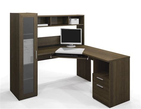 Modern Corner Office Desk Bestar Jazz Corner Computer Desk 90432 78
