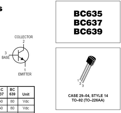 transistor equivalente ao bc337 transistores equivalentes ao bc337 eletr 244 nica clube do hardware