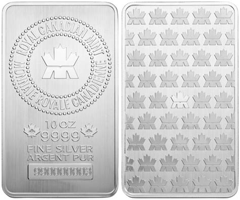 10 Oz Silver Bar Value Canada - royal canadian mint launches 10 oz 99 99 silver