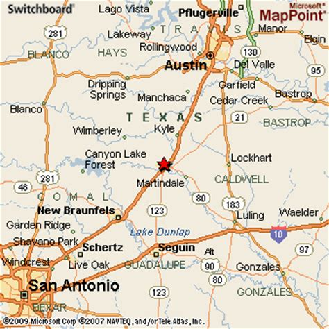 where is san marcos texas on a map san marcos texas