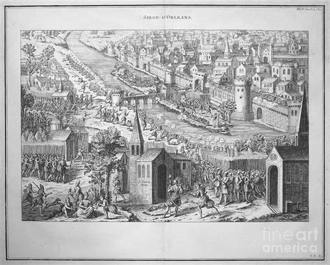 the siege of orleans siege of orleans 1428 1429 photograph by granger