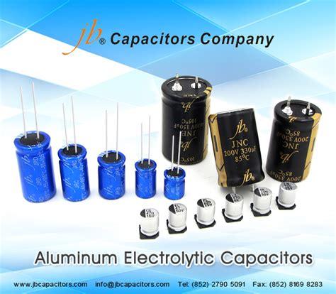 yageo corporation aluminum electrolytic capacitors jb capacitors company www jbcapacitors jcs