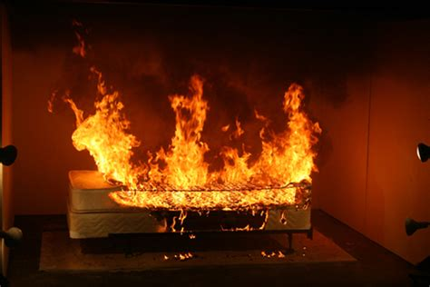 bed on fire furniture retailers implicated in bbc s fire regulation