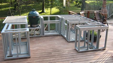 how to build an outdoor kitchen island having the outdoor kitchens plans