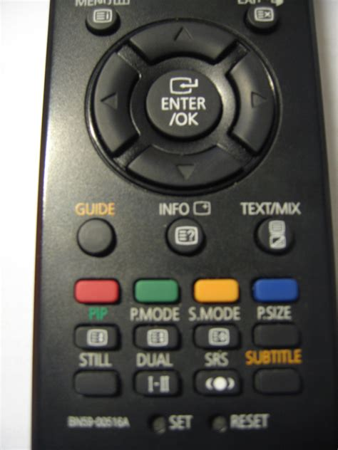 reset samsung tv without remote resetting a samsung lcd tv bigr s weblog