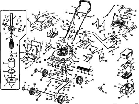 craftsman lawn mower parts diagram bloggerluvcom