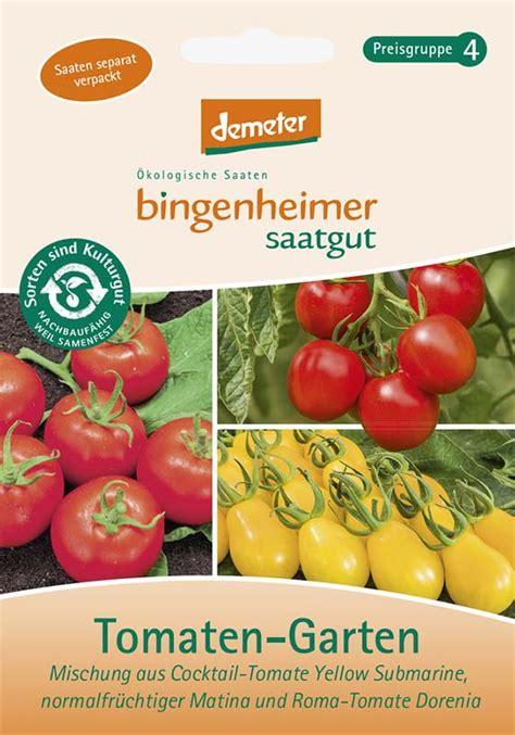 Tomaten Garten by Tomaten Garten Bingenheimer Saatgut