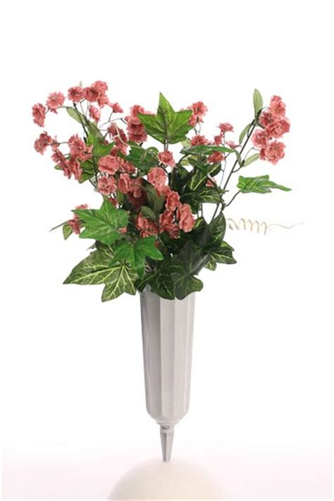 Plastic Flower Vases For Cemetery by Floral Crafts Cemetary Vases