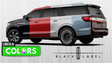 lincoln colors 2018 lincoln navigator review release price engine
