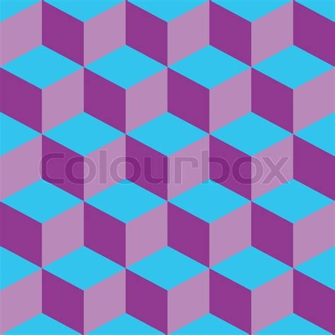 41268 Blue Mix Pattern psychedelic pattern mixed purple and blue abstract vector illustration stock vector