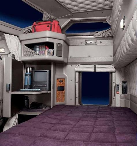 Sleeper Inside View by Kenworth Sleeper Cabs Interior View Car Interior Design
