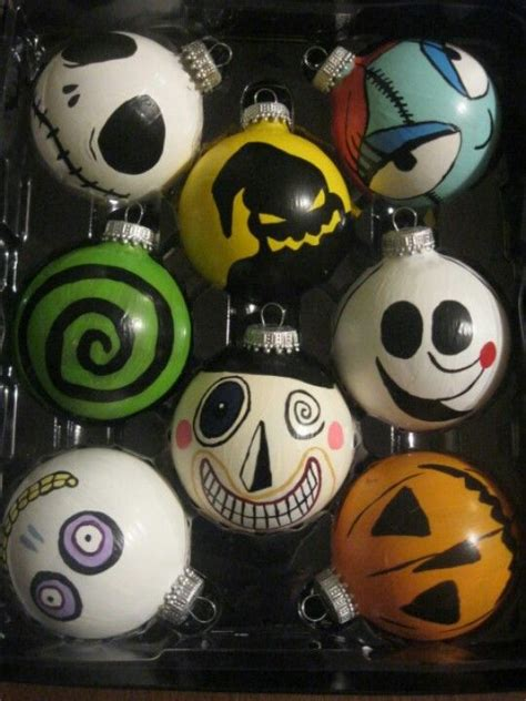 The Nightmare Before Ornaments - nightmare before ornament celebrate