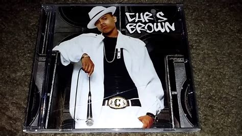 chris brown mp album unboxing chris brown 2005 self titled debut album youtube