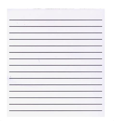 notebook paper template for word 2010 free lined paper template word