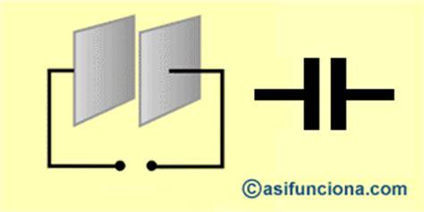 que es un capacitor simbolo qu 201 es un capacitor o condensador