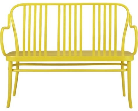 the yellow bench sonny yellow bench contemporary indoor benches by