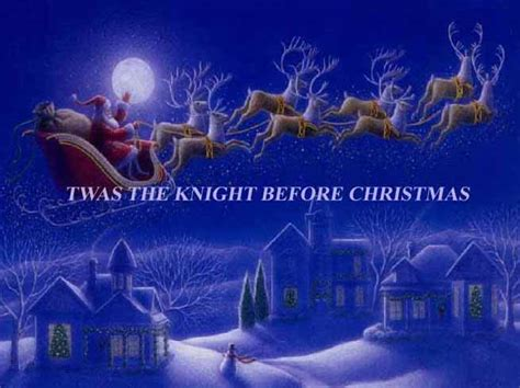 the night before christmas twas the night before christmas