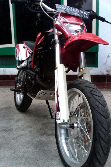 Pelindung Mesin Bawah Klx Honda Cs1 Ganti Jadi Supermoto