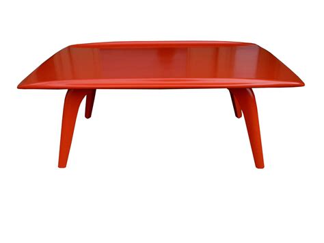 Heywood Wakefield Coffee Table Orange Mid Century Modern Coffee Table By Heywood Wakefield 1950s At 1stdibs
