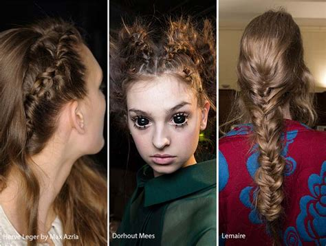 Hairstyles For 2017 Fall by Fall Winter 2016 2017 Hairstyle Trends Fashionisers