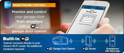 Phone Number For Chamberlain Garage Door Openers Smartphone Garage Door Openers Bluetooth Wifi