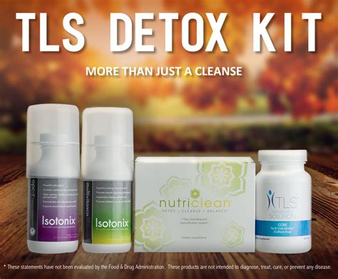 Tls Detox Kit by Tls Product Of The Month Tls Detox Kit Unfranchise
