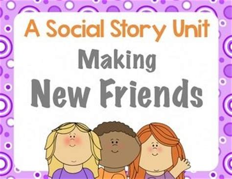 swinging with friends stories social story unit making new friends social stories