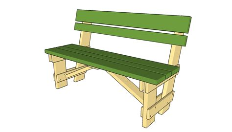 aff wood   shop woodworking plan garden bench