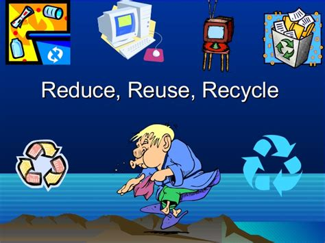 Recycling Power Point Presentation Reduce Reuse Recycle Ppt