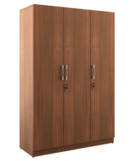 Wardrobes On Line by Spacewood Kosmo Optima 3 Door Wardrobe Buy At Best
