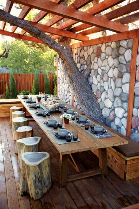 Alfresco Kitchen Designs by 30 Delightful Outdoor Dining Area Design Ideas