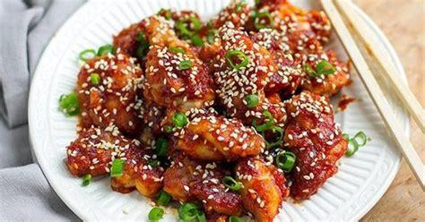 resep ayam goreng crispy korea saus lezat dapur masak enak