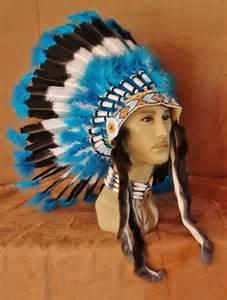 imitation native american war bonnet inwb109