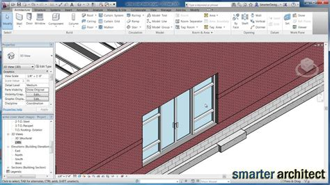 revit curtain wall tutorial revit tutorials revit architecture creating a curtain